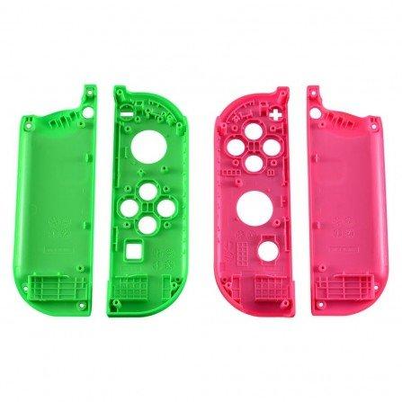 Carcasa mando Joy Con Nintendo Switch - VERDE / ROSA