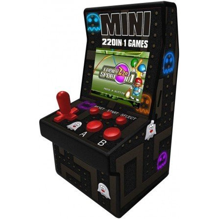 Maquina recreativa ARCADE MINI 16Bit 220 JUEGOS
