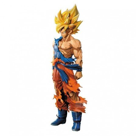 Muñeco DBZ Son GOKU Super Saiyan - Figura 34 cm