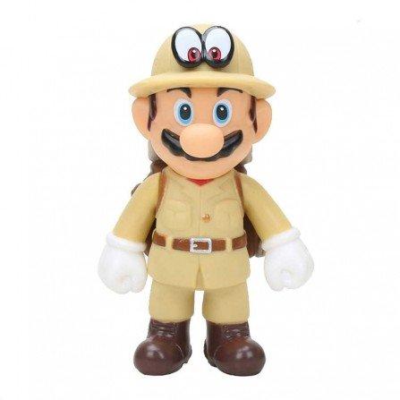 Muñeco Super Mario Odyssey MARIO Explorador| Figura 13 cm