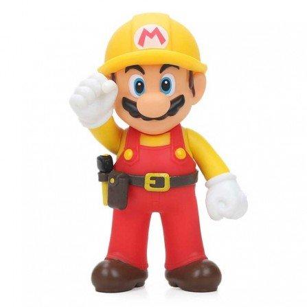 Muñeco Super Mario Odyssey MARIO Constructor| Figura 13 cm
