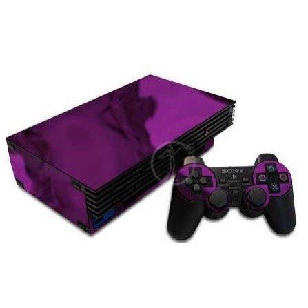 Cromo morado + 1 skin mando PS2