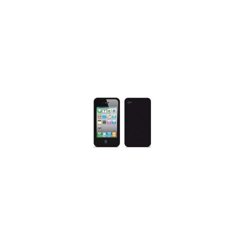 Funda silicona iPhone 4G / 4s ( Negra )