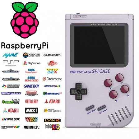 Consola arcade Portatil GAMEBOY PI - 32Gb