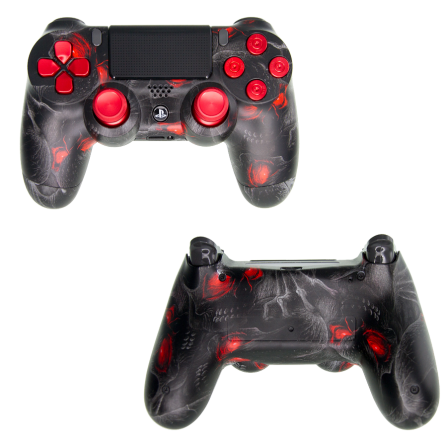 Mando PS4 Personalizado - Red Eyes PRO