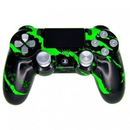 Mando PS4 Personalizado - Scratch Green PRO
