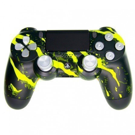 Mando PS4 Personalizado - Scratch Yellow PRO