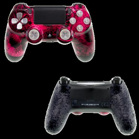 Mando PS4 Personalizado - Pink Alien