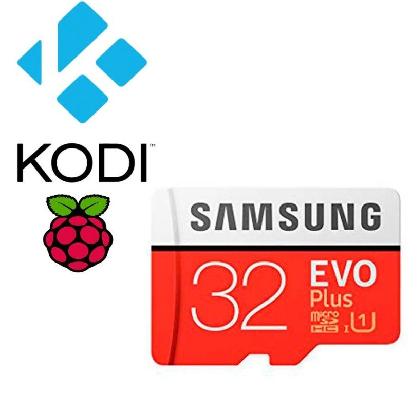 Micro SD 32Gb KODI Librelec