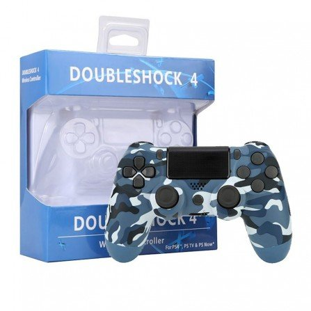 Mando PS4 V2 Compatible - CAMO BLUE