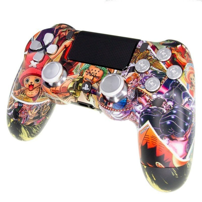 Mando PS4 Personalizado - ONE PIECE