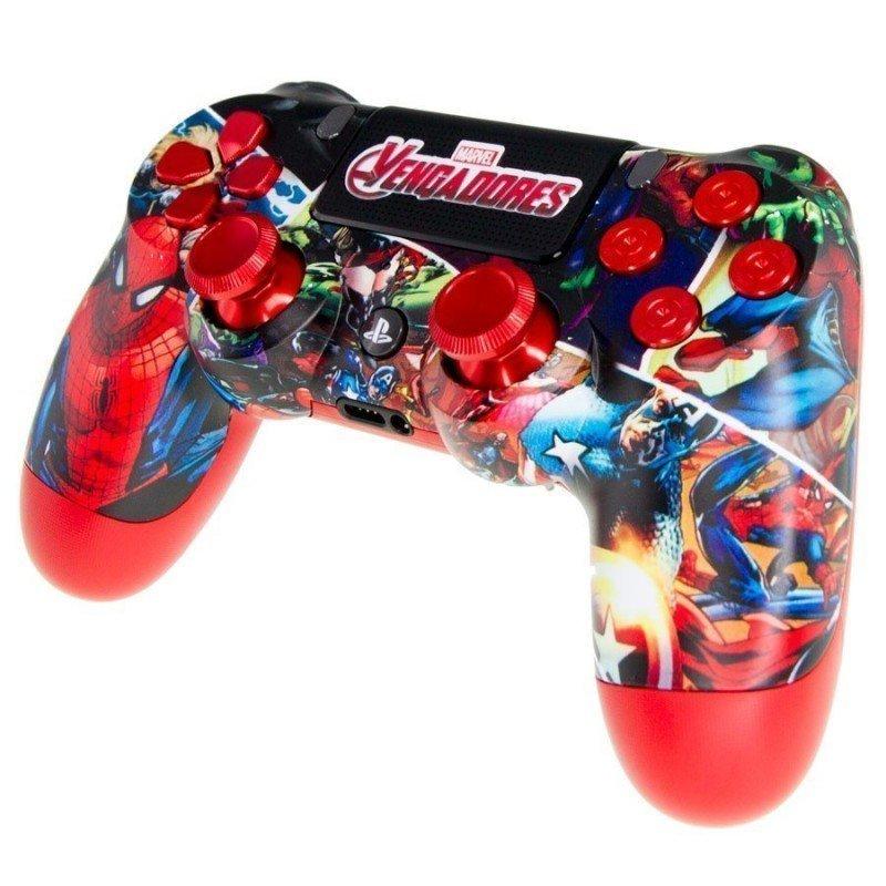 Mando PS4 Personalizado - Marvel Spiderman