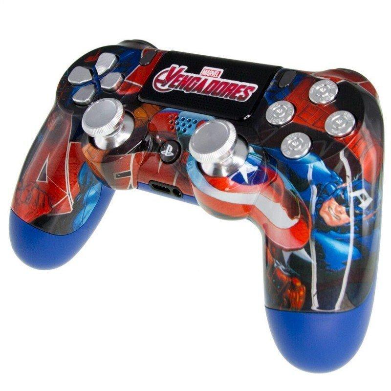 Mando PS4 Personalizado - Capitan America