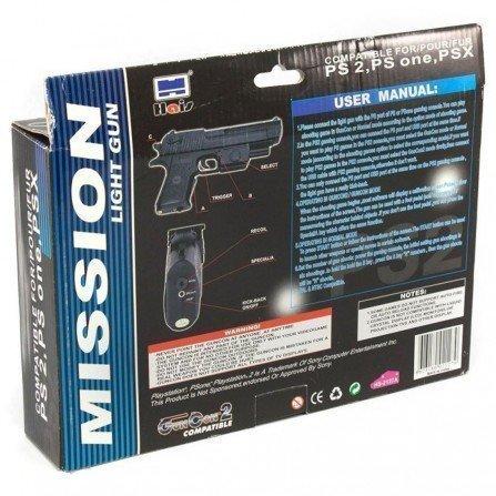 Pistola MISION LIGHT GUN PS2