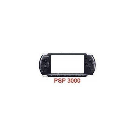 Carcasa superior PSP Original 3000 ( Negra )