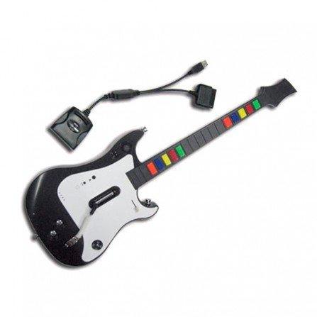 Guitarra Inalambrica UNIVERSAL GuitarHero y RockBand PS2 - PS3 - Wii - PC