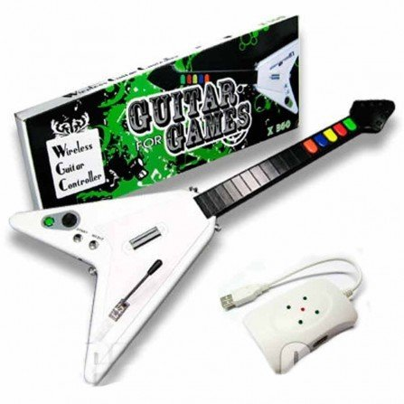 Guitarra Inalambrica Guitar Hero XBOX360 / PC