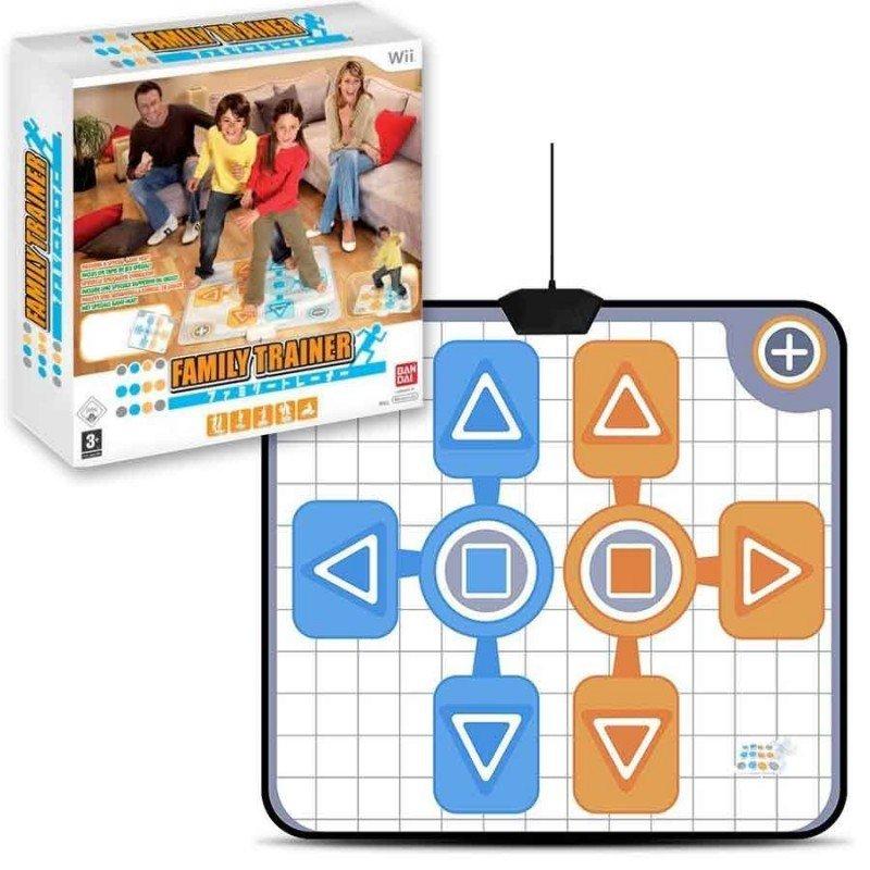 Alfombra de baile Family Trainer Wii Wii / Wii U ...