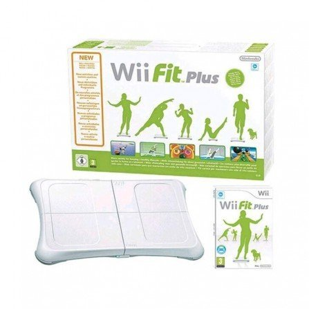 Balance Board + Juego Wii FIT PLUS