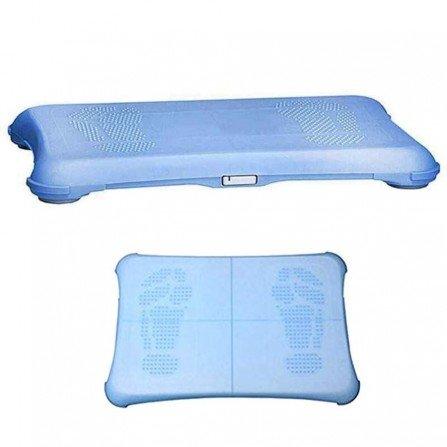 Protector silicona antideslizante Wii Fit - AZUL