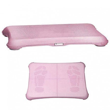 Protector silicona antideslizante Wii Fit - ROSA