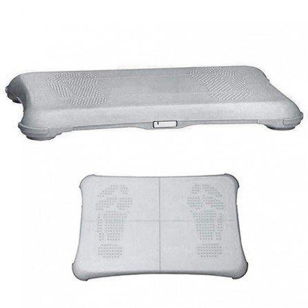 Protector silicona antideslizante Wii Fit - BLANCO