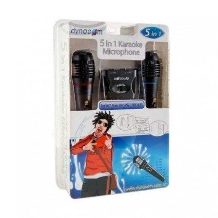 Microfonos karaoke con cable ( 2 unidades ) WII/PS2/PS3/PC/XBOX360