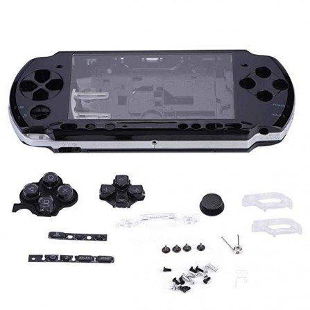 Carcasa completa PSP 3000 + Botones - Negra