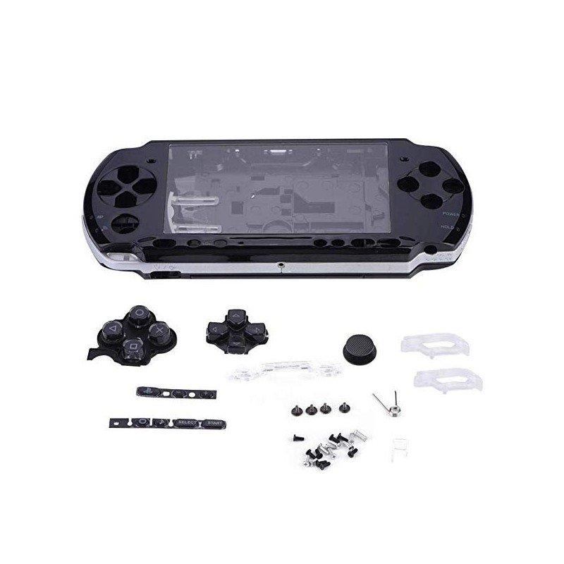 Carcasa completa PSP 3000 + Botones ORIGINAL ( Negra )