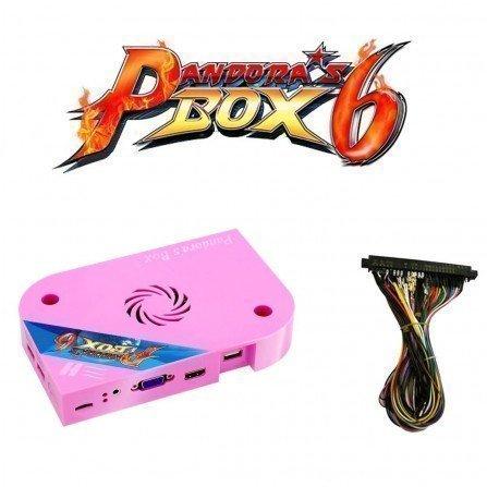 Consola Pandora box 6 1300 juegos (Ampliable USB) + Cableado Jamma