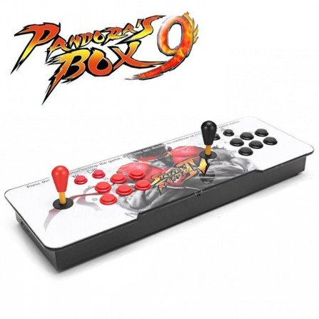 Joystick doble con maquina recreativa Pandora BOX 9 - 1660 Juegos