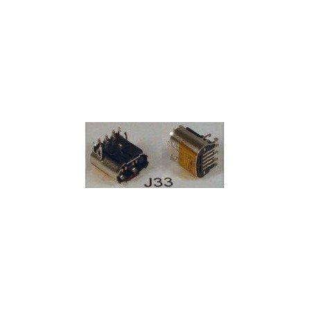 Conector D.C Portatil DC-J33