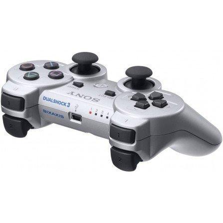 Mando DualShock 3 ORIGINAL SONY - PLATA