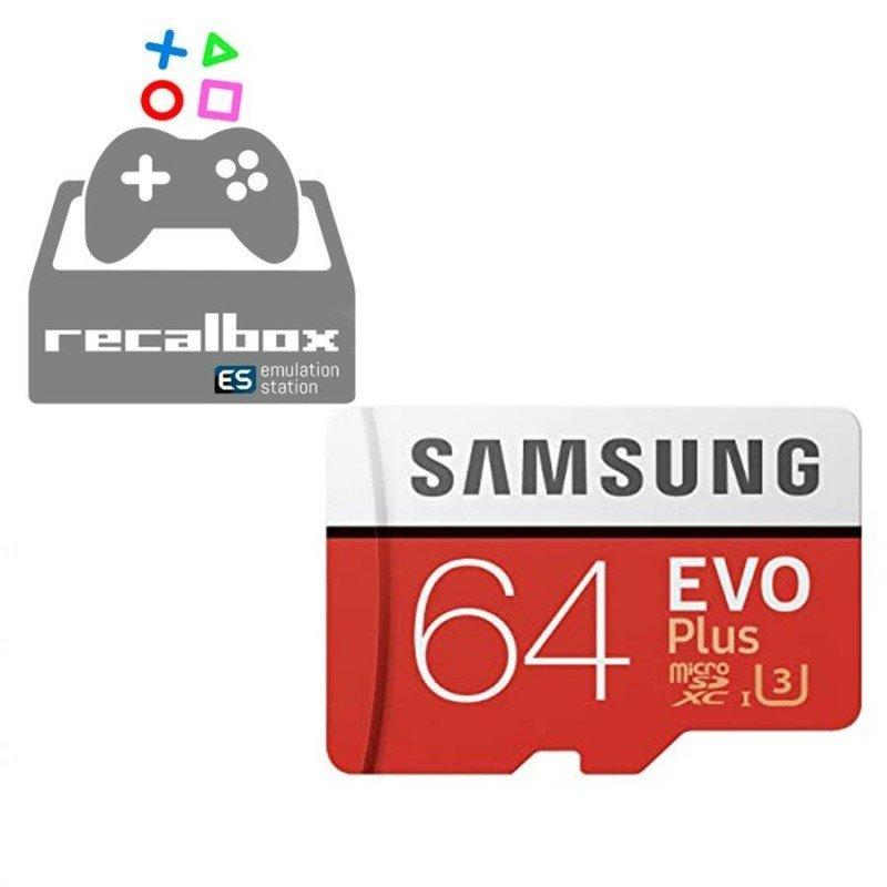 Micro SD 64Gb RECALBOX