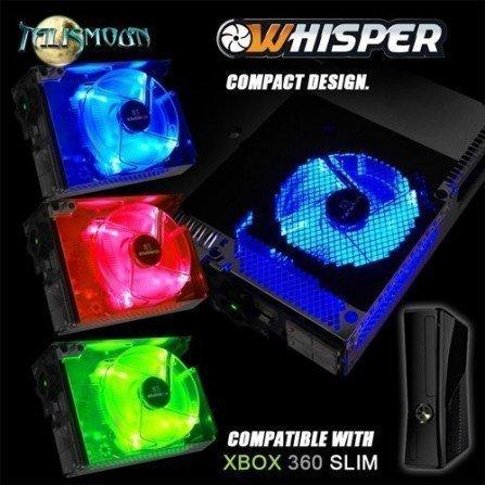 Ventilador Whisper ( 3 en 1 ) XBOX360 Slim