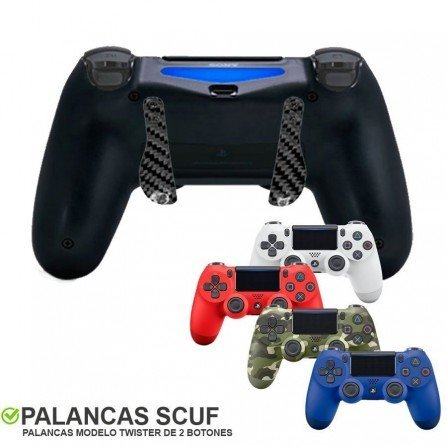 Mando PS4 Competitivo SCUF - twister carbono
