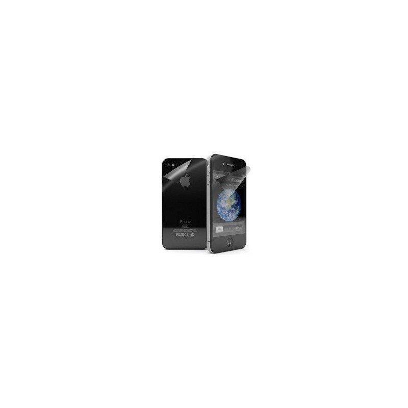 Protector pantalla iPhone 4G/4S (Efecto Anti-huellas)