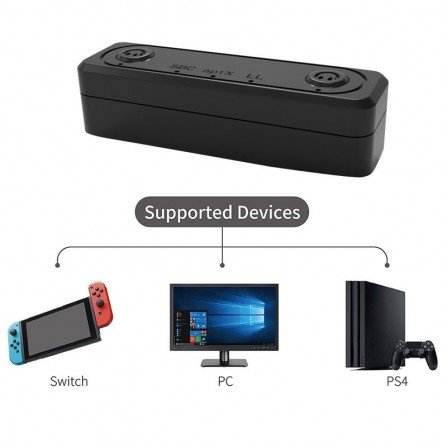 Adaptador para auriculares bluetooth 5.0  Switch / PS4 / PC