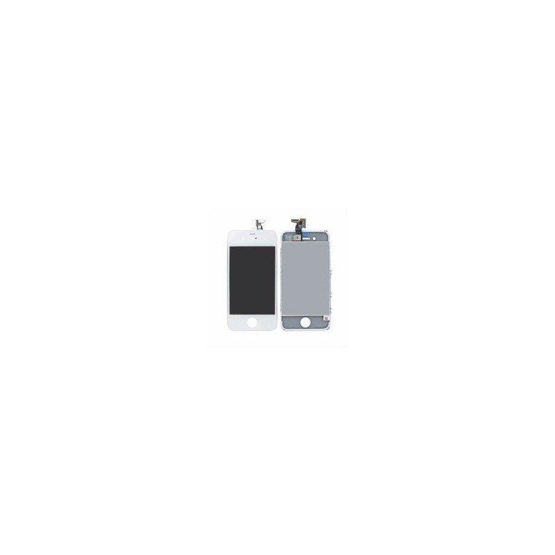 Pantalla Retina LCD + Tactil con soporte iPhone 4G BLANCA ( Original Apple )