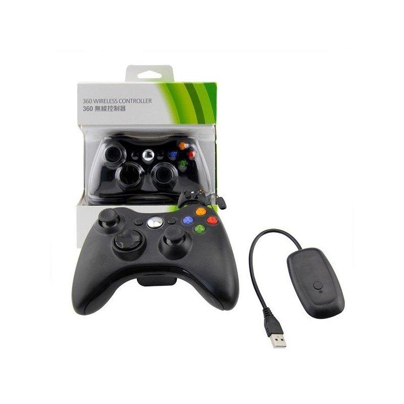 Mando Inalambrico XBOX360 y PC Compatible - NEGRO