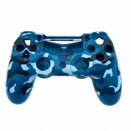 Carcasa mando DualShock 4 PS4 V2 - CAMO BLUE