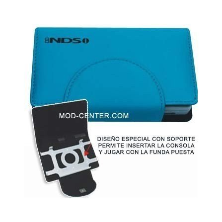 Funda Compact Pocket + Stand DSi ( Azul Cielo )