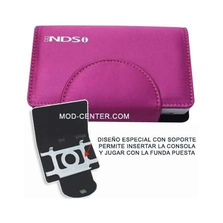 Funda Compact Pocket + Stand DSi ( Rosa )