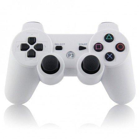 Mando inalámbrico PS3 - Blanco