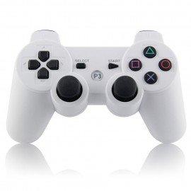Mando inalámbrico PS3 - Blanco