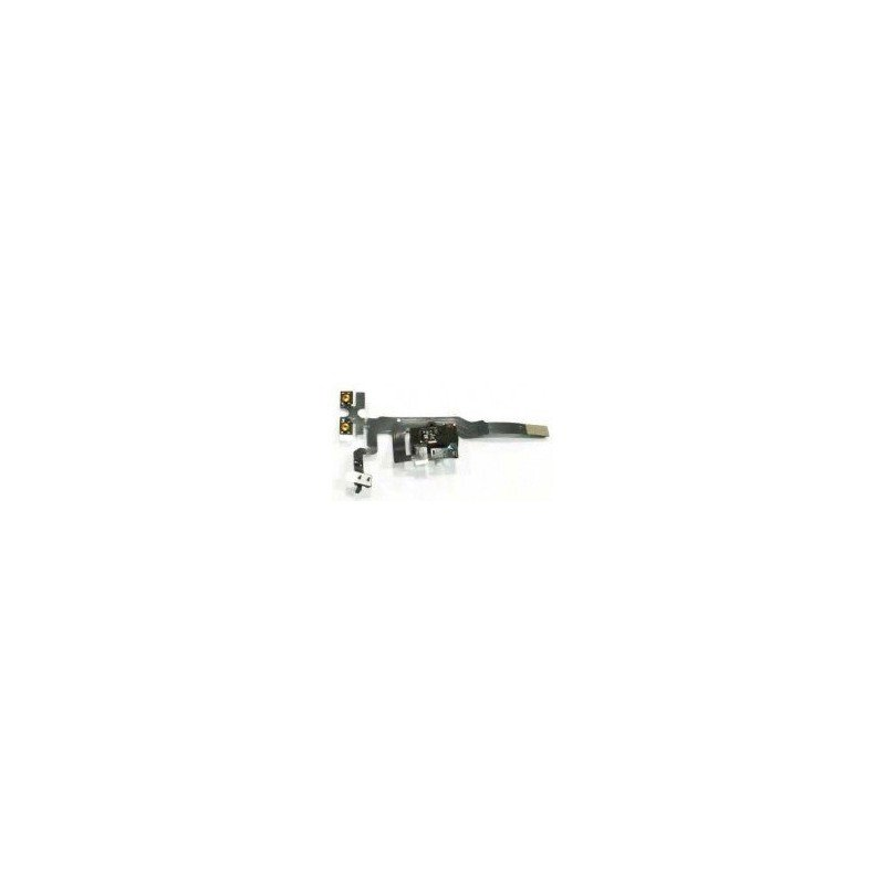 Cable flex conector auriculares + Volumen +  Hold iPhone  4S