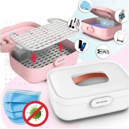 Esterilizador UV BOX Desinfecta Luz Ultravioleta Calor seco y Ozono