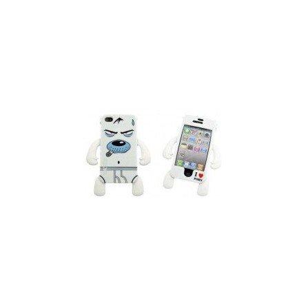Funda silicona iPhone 4G / 4s ( Perro Fumeta )