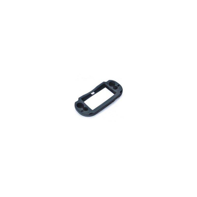 Protector silicona antigolpes PS Vita 1000 (Negra)