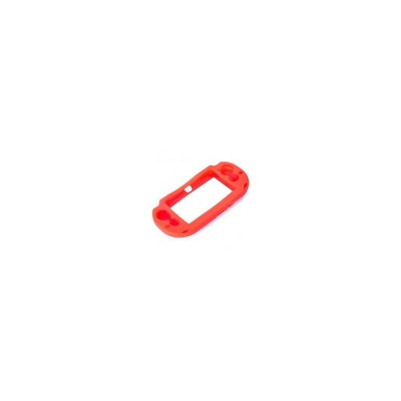 Protector silicona antigolpes PS Vita 1000 (Roja)